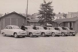 Gendarmes voitures années 60