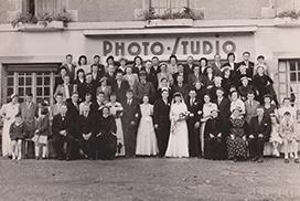 Grand mariage années 50