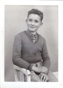 Jeune paysan vers 1955