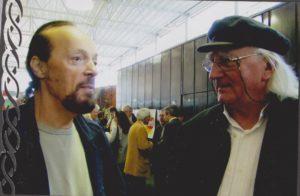 Yannig Baron avec Alan Stivell
