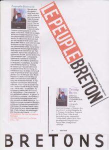 Bio Yannig Baron - Articles PB & Bretons