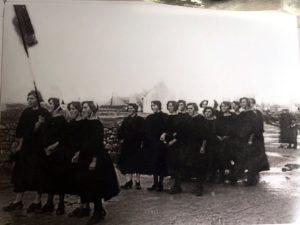 Sardinières de Lesconil en grève -1924