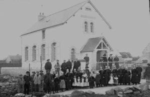 Temple Protestant de Lesconil - Inauguration 1912