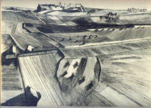 Le Gonidec - Gravure - Paysage sur zinc